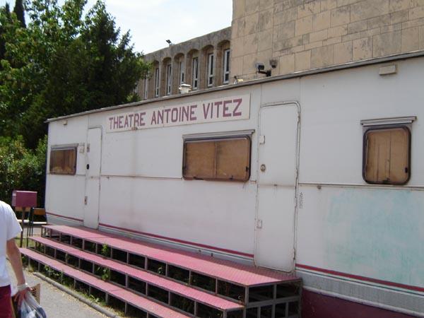Le mobile du Théatre Antoine Vitez